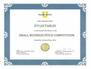 Pitch Certificate