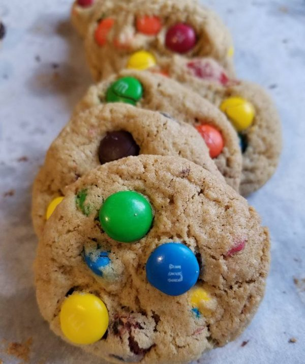rainbow riot gluten free cookies MA and RI