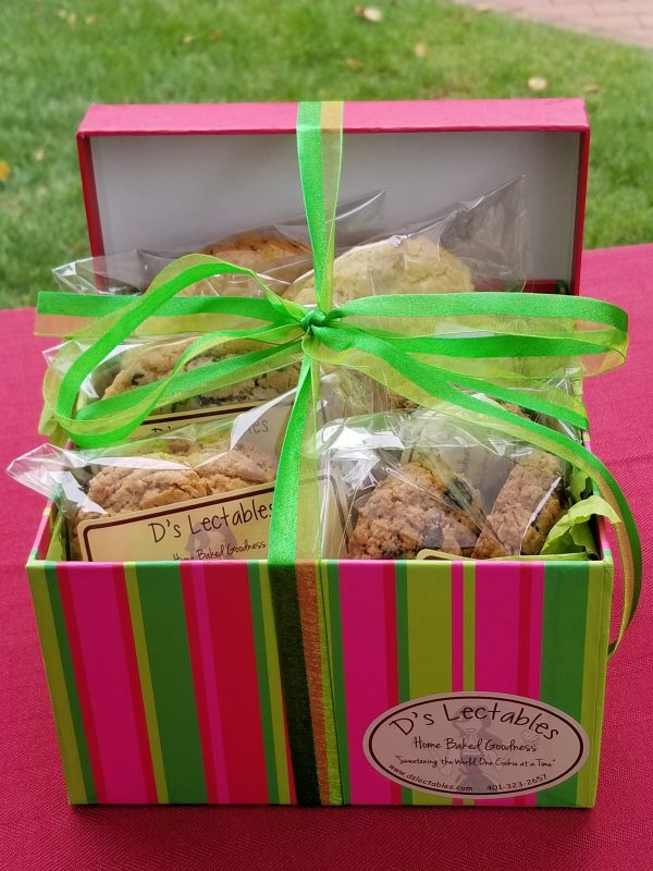 homemade cookies for business gifts in MA and RI